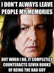"Snape Meme | ""Turn To Page 394..."" 