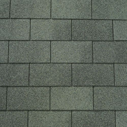 Stone Gray Gaf 3tab Roof Shingles Swatch General Roofing
