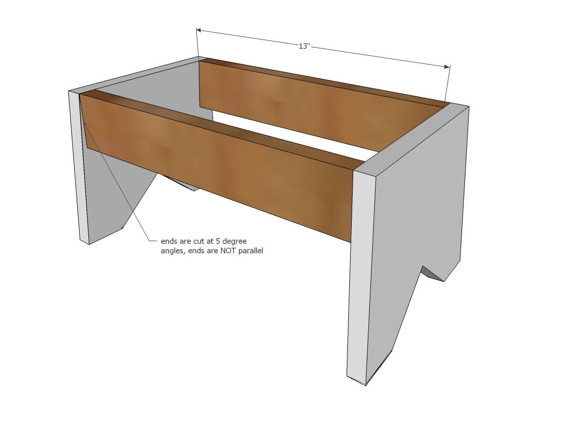 Build A Simple 1x10 Single Step Stool Bathroom Tutorials