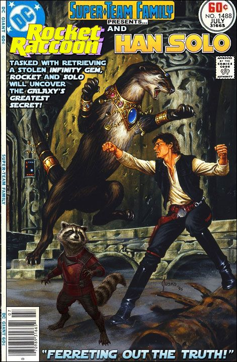 Super-Team Family: The Lost Issues!: Rocket Raccoon and Han Solo