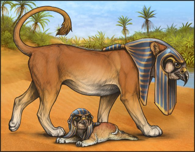 Lioden Hieracosphinx By Mrxylax Art In 2019 Mythological