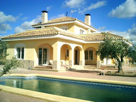 Spanish houses spanish villa design sample pictures for Spanish villa house