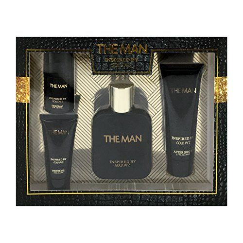Introducing The Man 4 Piece Fragrance Gift Set Includes Eau De Toilette After Shave Shower Gel and Deodorant Inspired By Jay Z Gold. It is a great product and follow us for more updates!