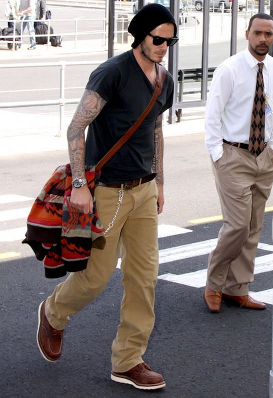 Red Wing Shoes's - 6 Inch Moc Work Boot - as seen on David Beckham ...