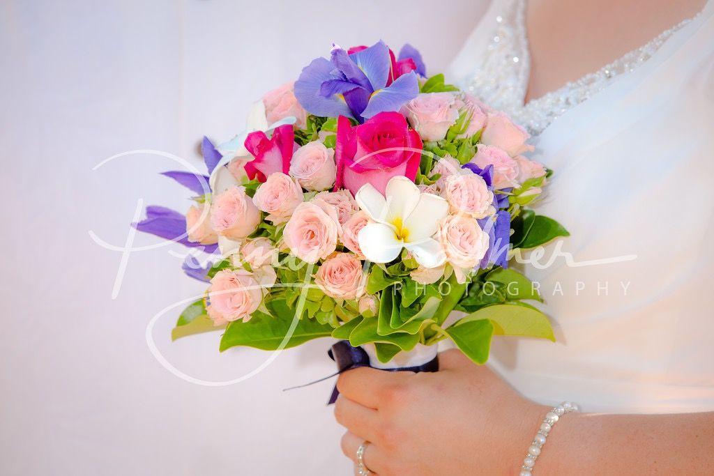 Beautiful country Hawaiian bouquet | Maui Wedding Flowers ...