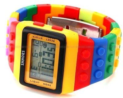 Kolorowy Zegarek Jelly Watch Shhors Led Zn8 Orologio