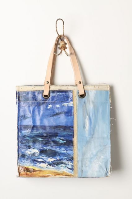 Original Still Life Bag, Sailboats - anthropologie.com