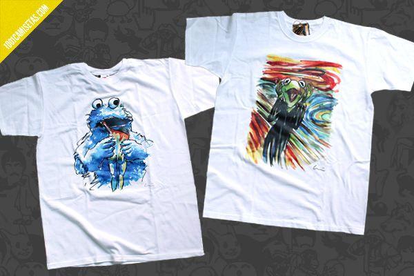 Camisetas historias con arte #camisetas #t-shirts