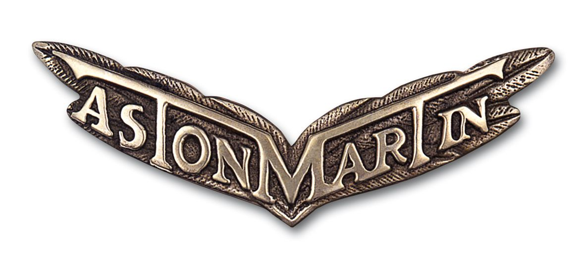 Aston Martin Logo Wings & Badge Evolution Aston martin
