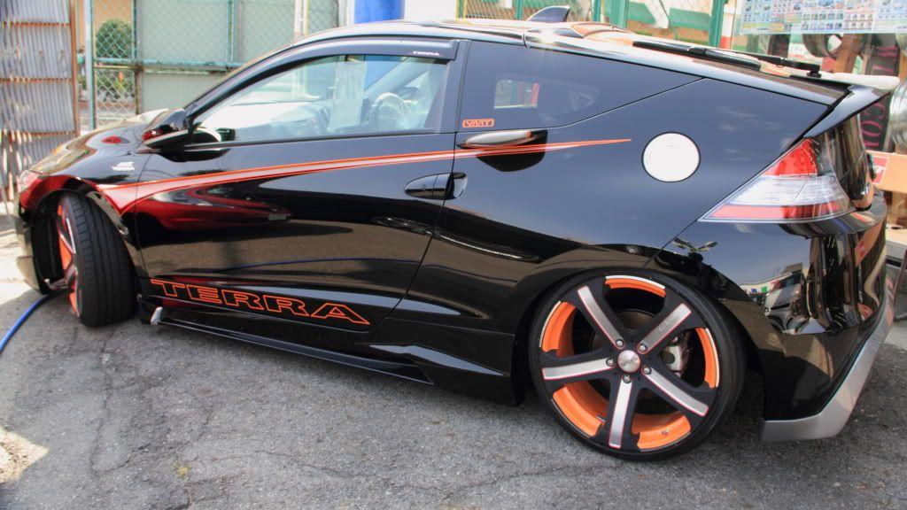 Custom Cr Z Honda Car Tuning Civic Cool Cars