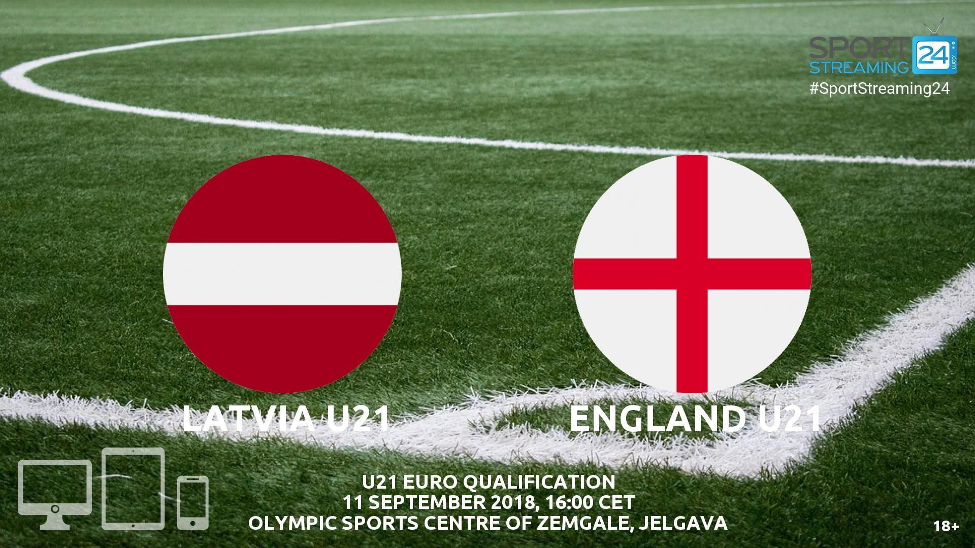 Latvia U21 v England U21 Live Streaming Football