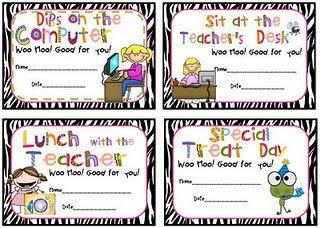more classroom prizes