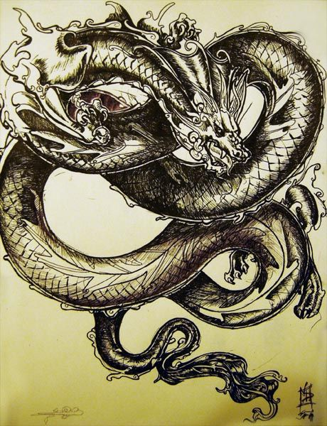 Dilong Chinese Myth A Dragon Of The Earth Land Soil And Ground Chinese Dragon Dragon Tattoo Designs Dragon