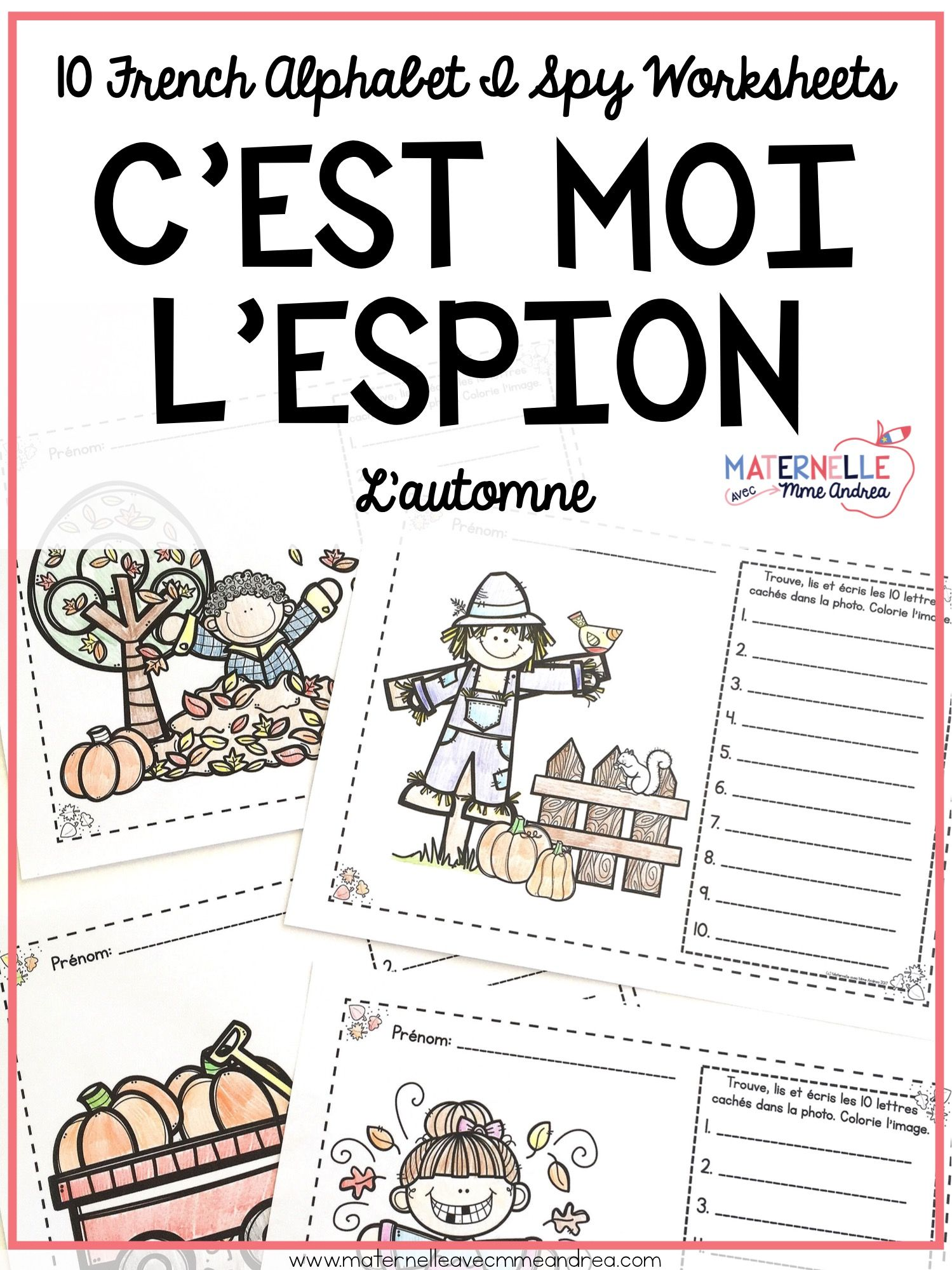 C Est Moi L Espion L Automne Fall Autumn I Spy