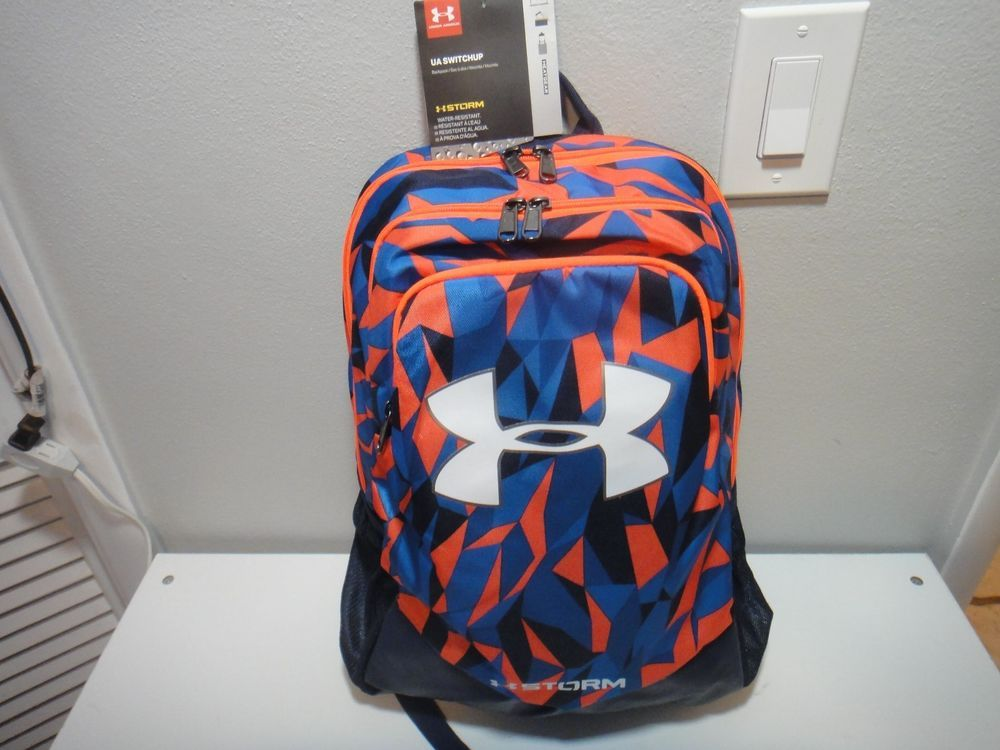 1571662ff3 Under Armour Boys Strom Switch up Back Pack Water Resistant Blue ...