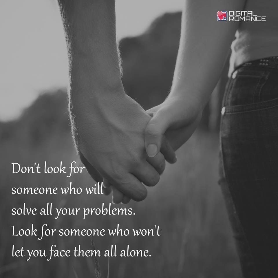 I don't want someone to solve my problems for me, or to fix me. But I do want to feel loved.