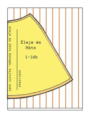 7fb6758b4a Szoknya szabásminta készítés 3. Harangszoknya szabása csíkos és kockás  anyagból szabásminta szoknya szabásminta szoknya szabásminta készítése