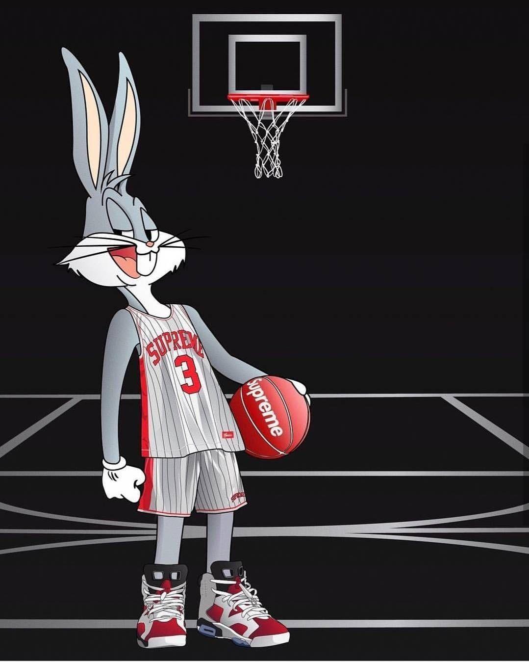 Animated Nba Wallpaper Http Wallpapersalbum Com Animated Nba Wallpaper Html In 2020 Cute Cartoon Wallpapers Supreme Wallpaper Bunny Wallpaper