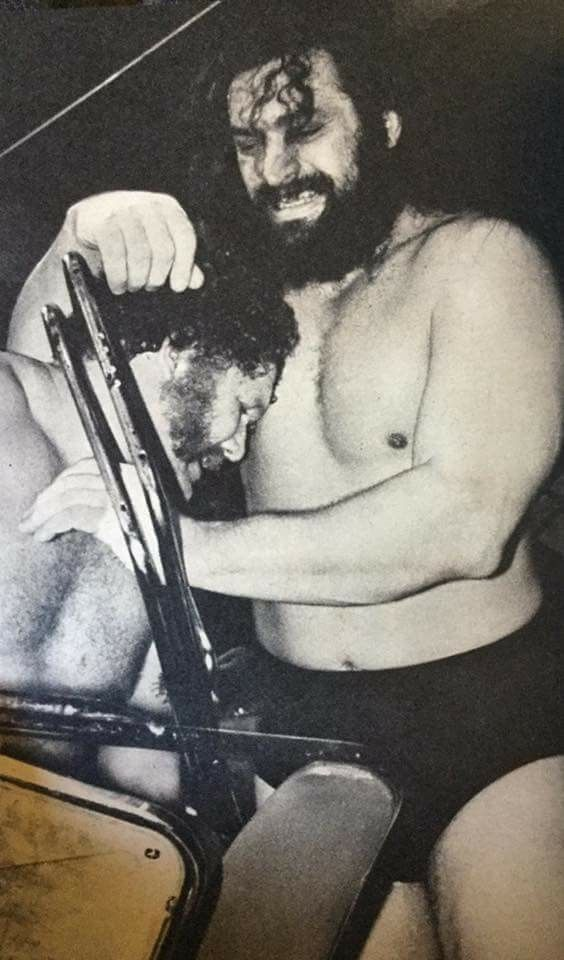 Bruiser Brody vs Harley Race 1981 Japan | Bruiser brody, Harley race, Japan
