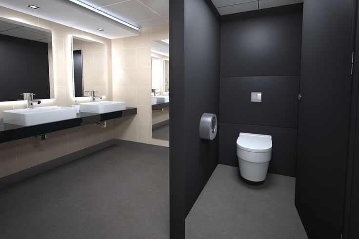 Commercial Bathroom Design Mesmerizing Office Bathroom Design With 50 Images For Office Toilet Design Decorating Inspiration