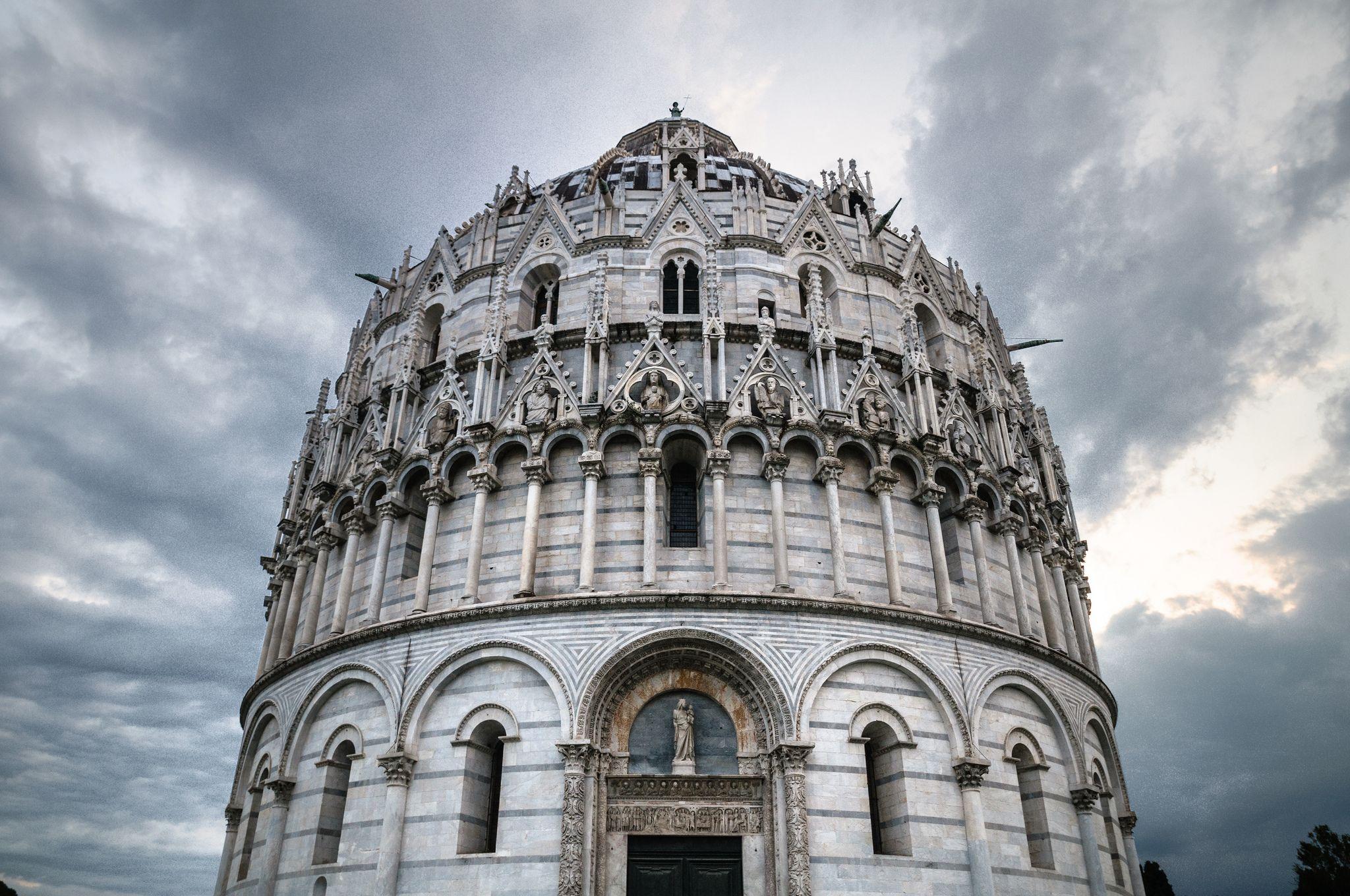 Pisa - Piazza dei Miracoli - Battistero (With images ...