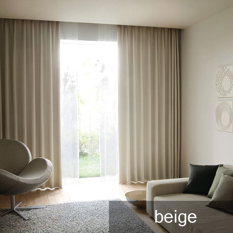 modern curtains for bedroom interior decoration home window treatments solid color blackout living room curtain panel