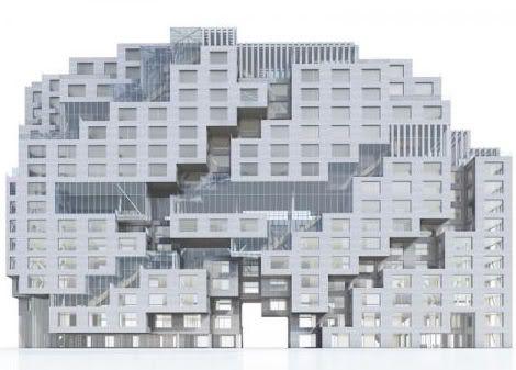 mvrdv (pas-bas). tetris bancaire. | décoration maison, meubles ... - Meuble Urban Design