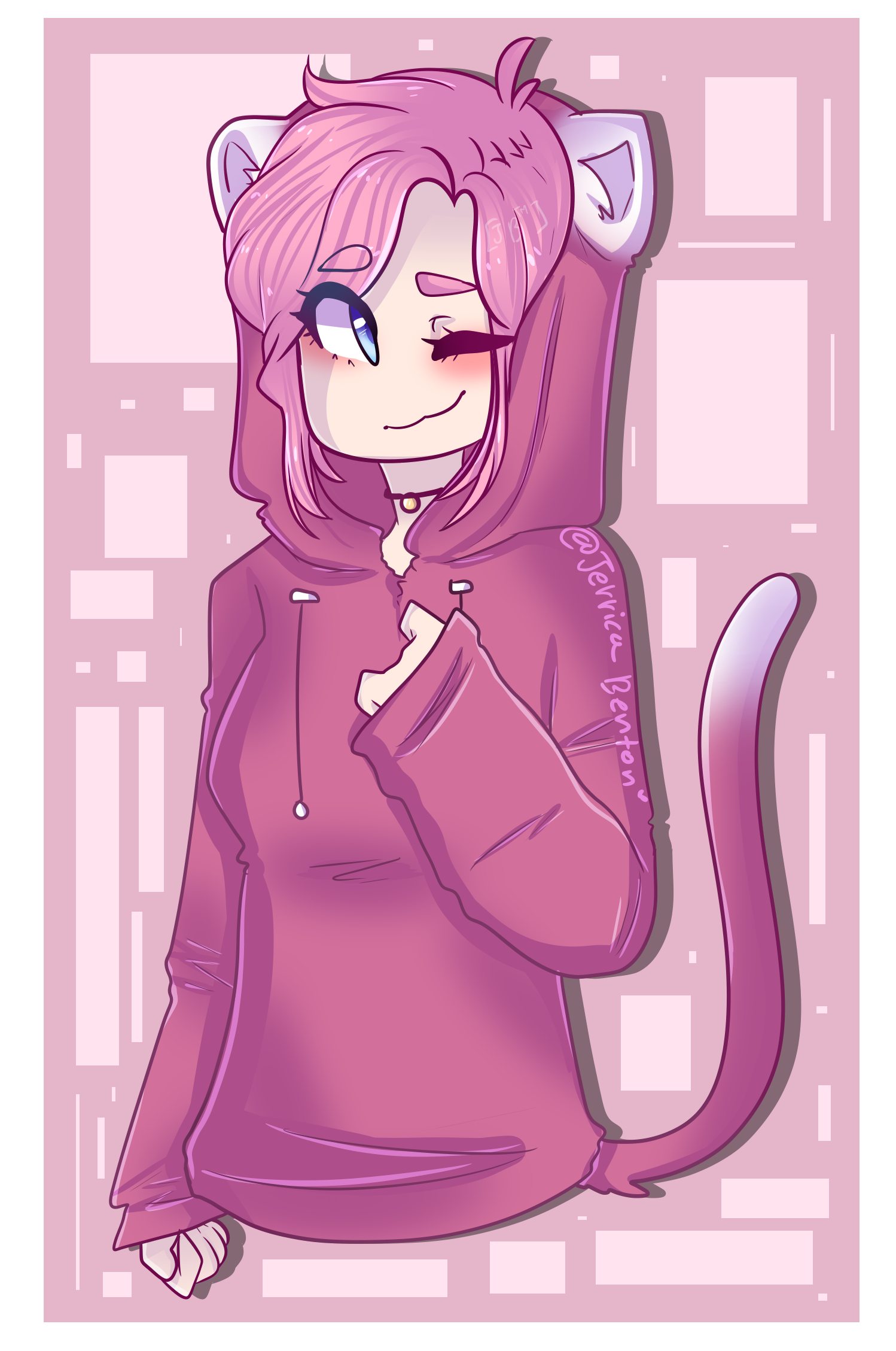 """my oc """"Penny"""" . By Jerrica Benton Cute backgrounds"""