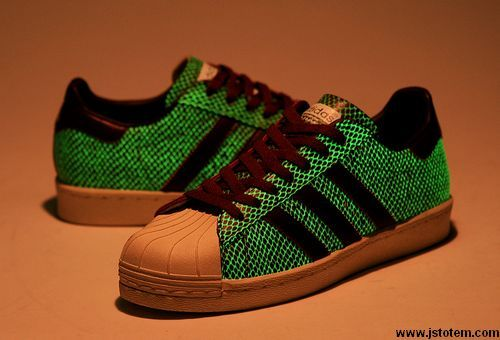 Adidas Superstar 2 hombre  zapatos originales que brillan en la oscuridad 75