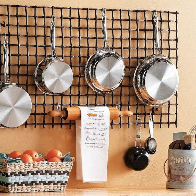 75 MARVELOUS HANGING RACK KITCHEN DECOR IDEAS Kitchen Pinterest
