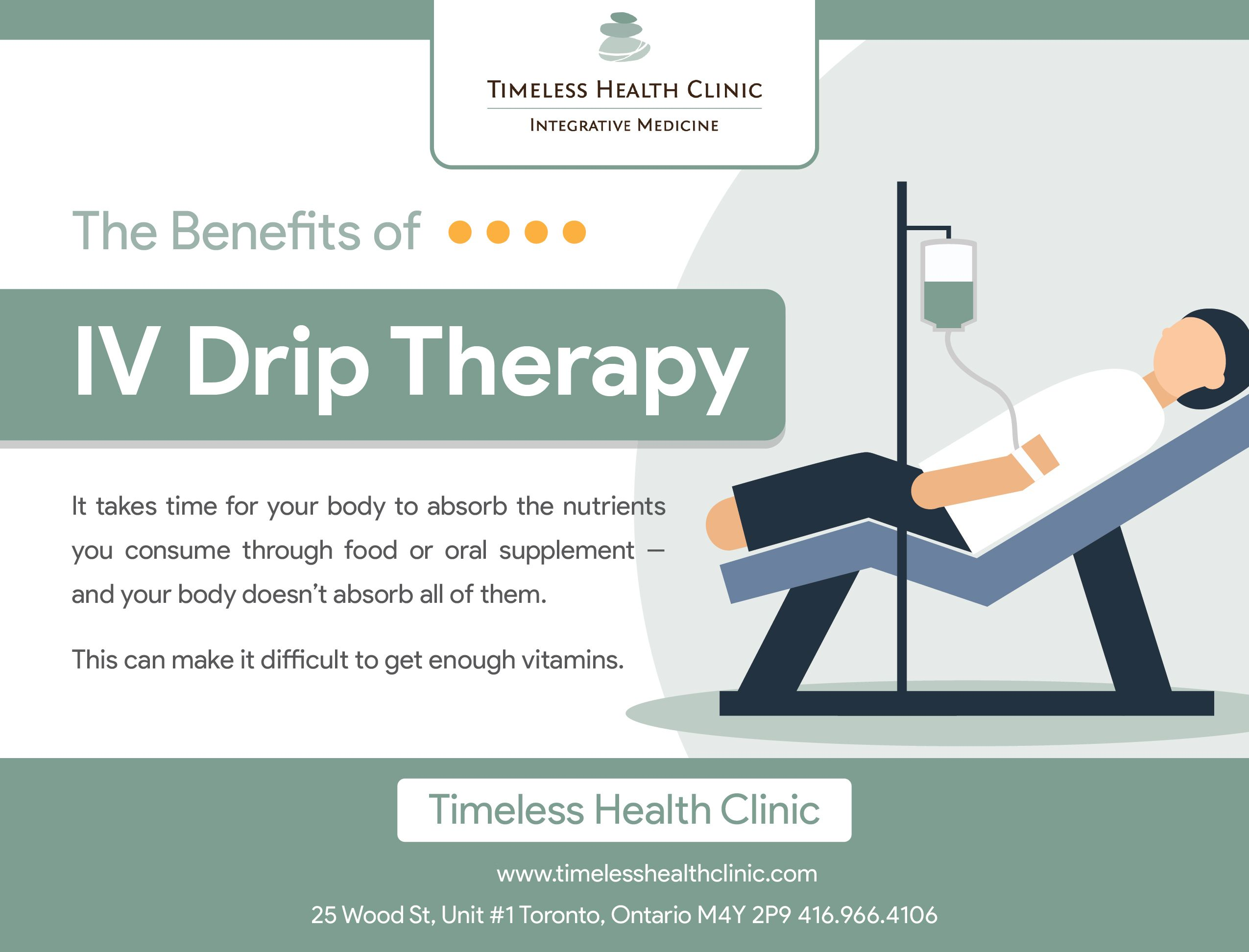 The Benefits of IV Drip Therapy Timeless Health Clinic