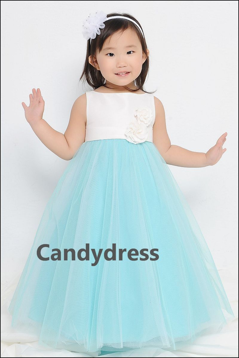 Flower Girl Tiffany Blue Dresses | Dresses and Gowns Ideas ...