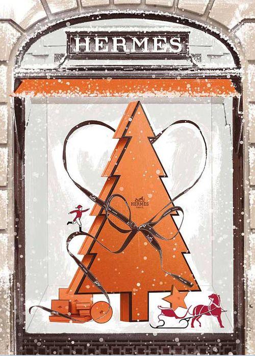 Pin By Haruna Shirasuna On My Style Hermes Orange Christmas Hermes Window