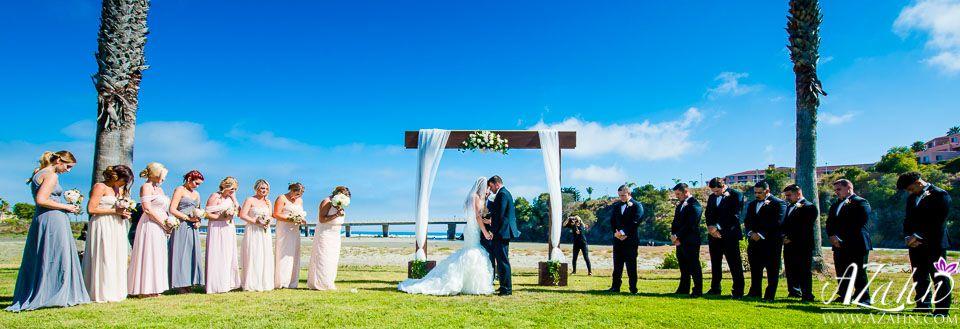 Wedding Ceremony At Avila Beach Golf Course Photo By Azahnphoto
