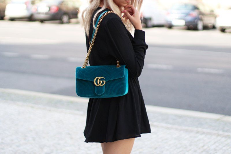 58bad92606d4 Gucci Marmont Velvet Bag Outfit #gucci #outfit #fashion #marmont #blogger