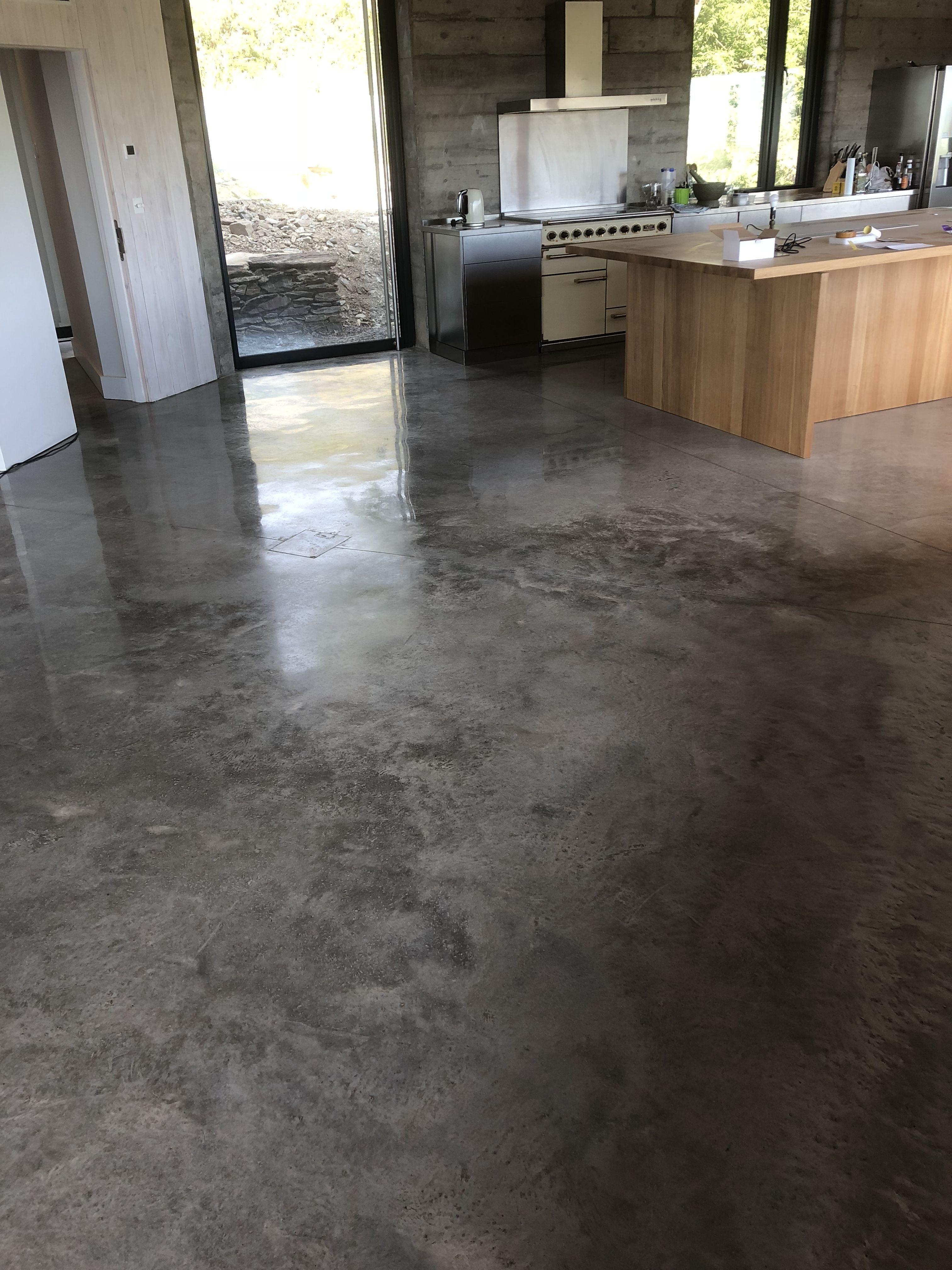 Poliruoto-betono-danga
