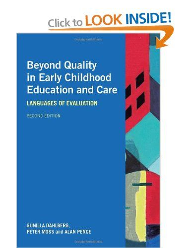 Beyond quality helps educators learn more about the sociology of childhood, philosophy, ethics, and political science.