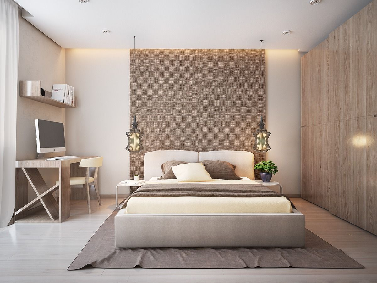 Best The Bedroom Plays With Texture And Shape Here Also With A 640 x 480