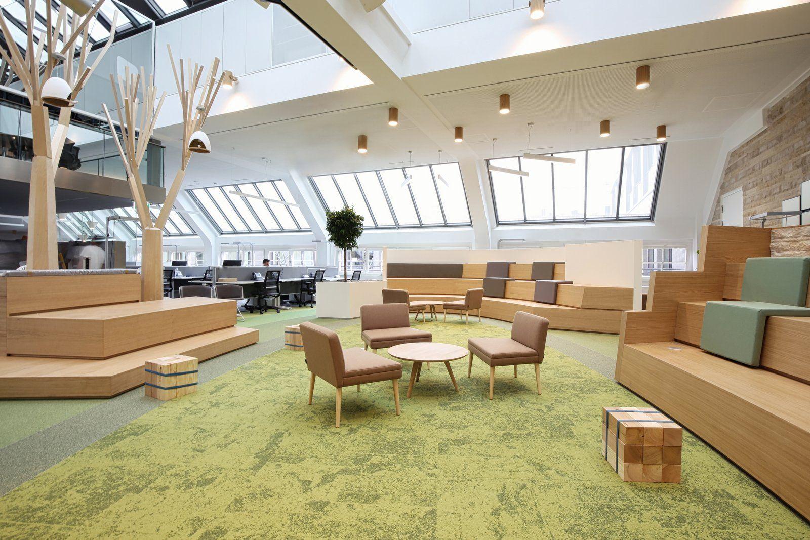 Office tour linkedin offices munich interior design for Interior design munich