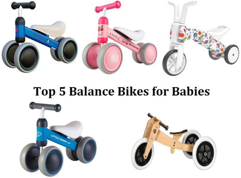 Top 5 My First Balance Bikes In 3 And 4 Wheels From Best Gifts For