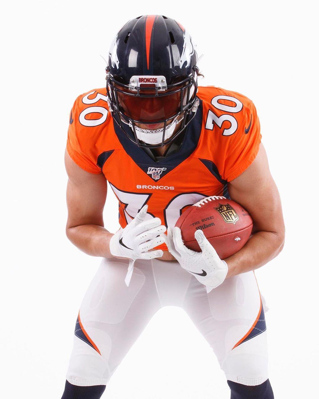 NFL Visor game gabrielchristus/broncos Denver