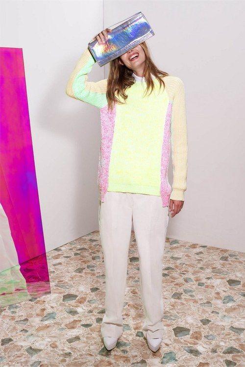 pastel + neon