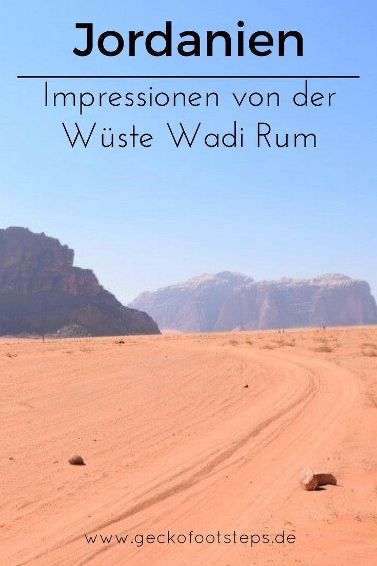 Jordanien Impressionen Von Der Wuste Wadi Rum Wadi Rum Reisen