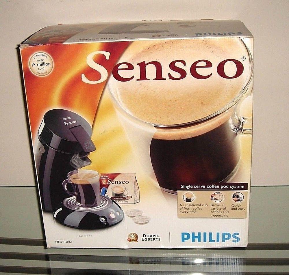 Senseo HD7810 Genuine Philips Original Pod Frothy Coffee