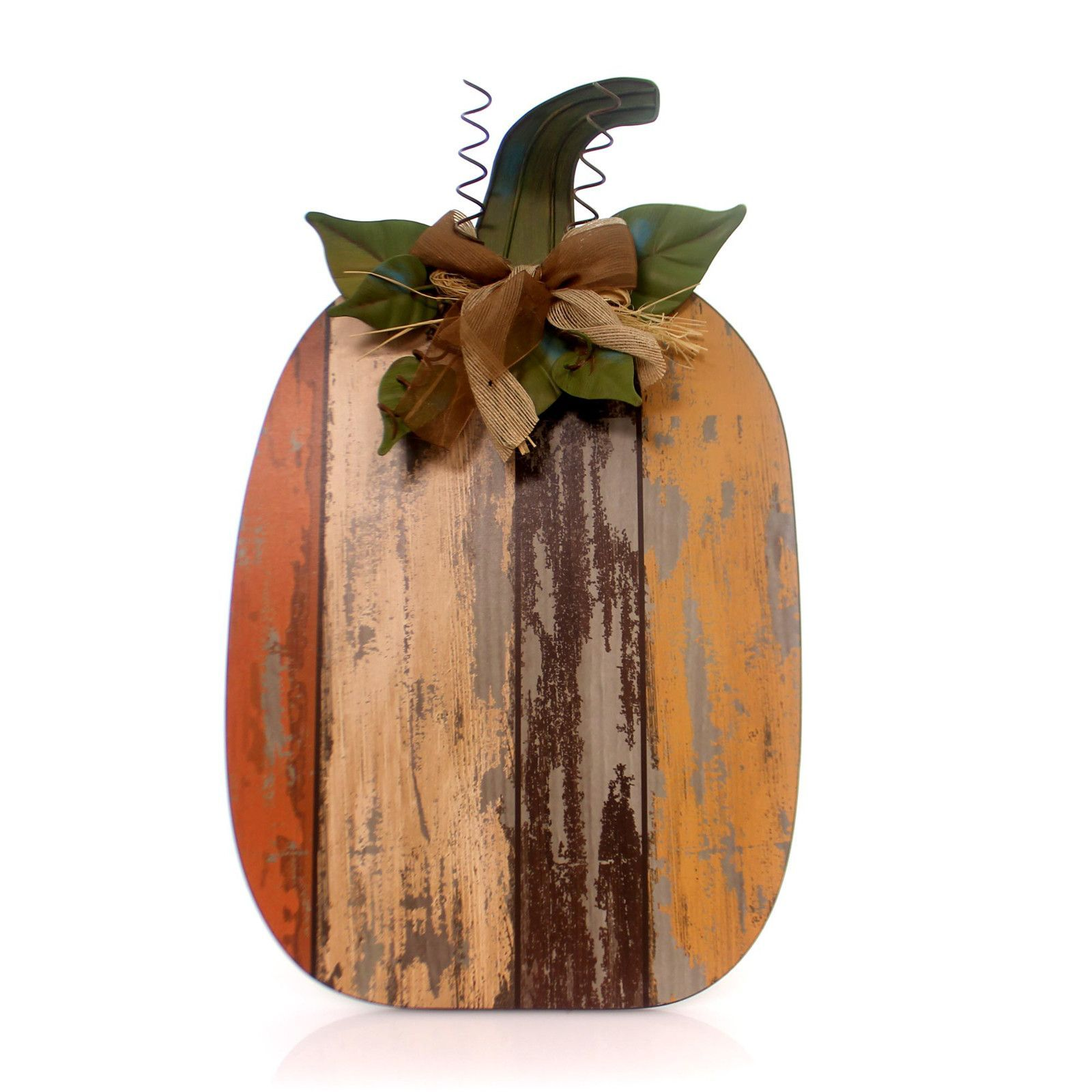 Home Decor Wood Slat Pumpkin Figurine Wood slats Wood types and