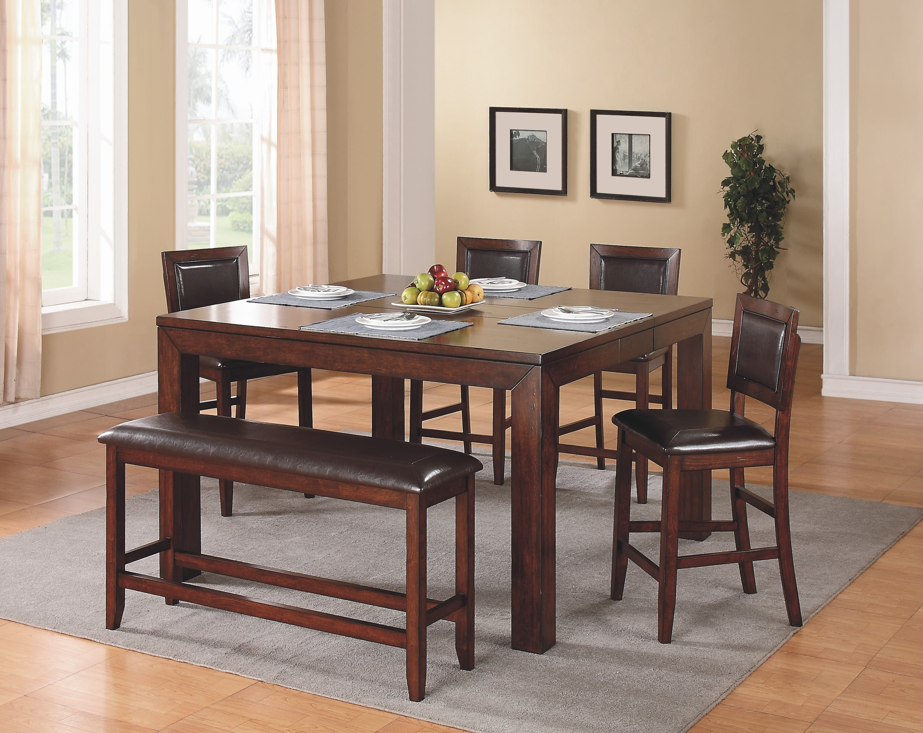 Fallbrook Counter Height Leg Table Dfmt16060 Dining Tables