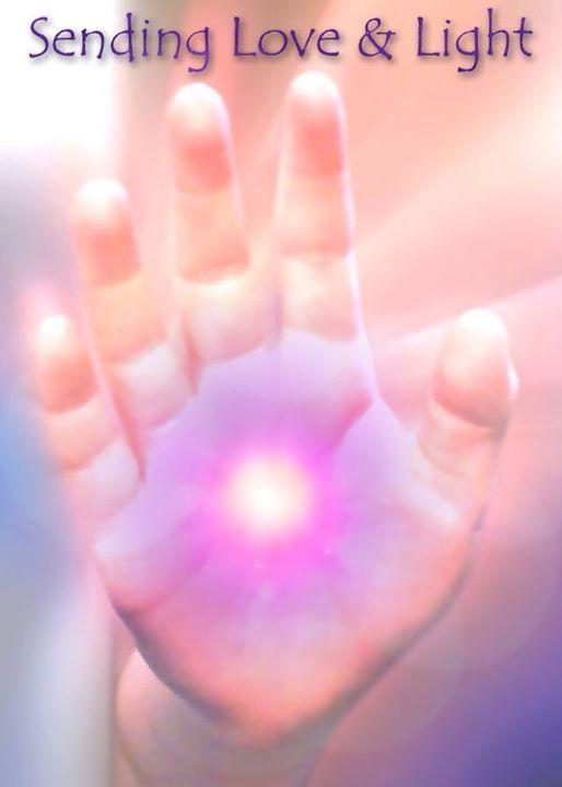 Sending Love Light Love Light Http Ift Tt 1onrvdq Sending Love And Light Healing Hands Reiki