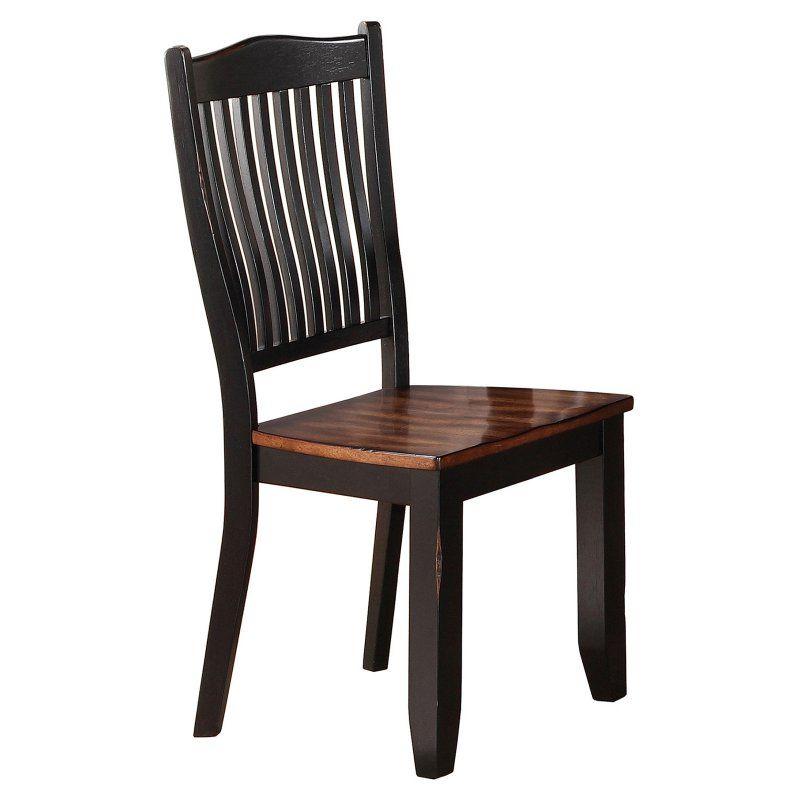 Winners Only Carson Slat Back Side Chair - Set of 2 - WIN487