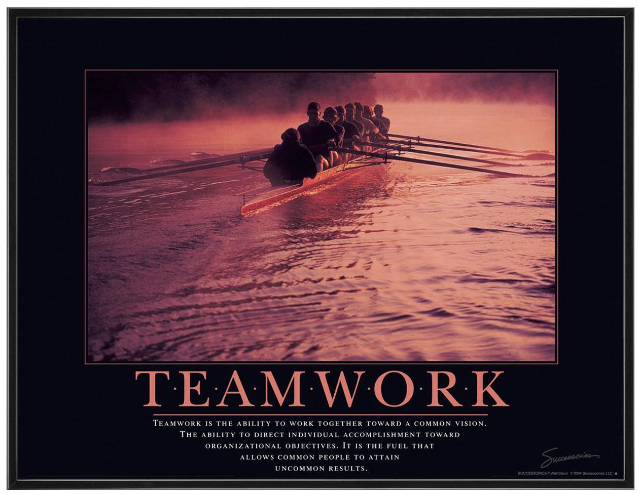 the office motivational posters. Our Teamwork Rowers Framed Motivational Poster Shows A Perfectly Synchronized Team Of With Quote. Enhances The Look Office Posters S