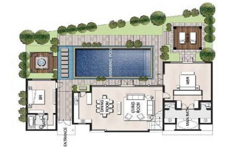 Thai Spa Floor Plans